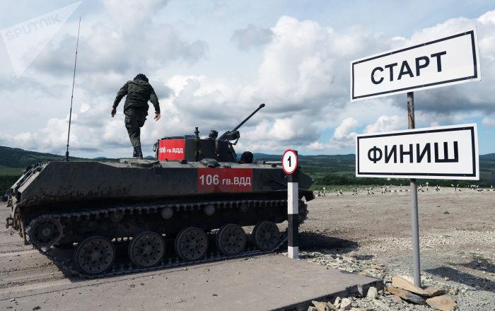 Pelotón de Desembarco 2017: fenómenos del Ejército ruso ponen a prueba sus destrezas