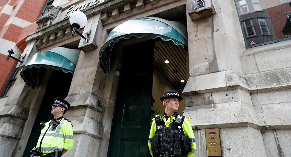 Policía británica (imagen referencial)