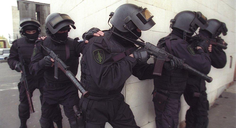 Lucha contra terrorismo del Servicio Federal de Seguridad de Rusia