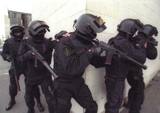 Agentes del Servicio Federal de Seguridad de Rusia (archivo)