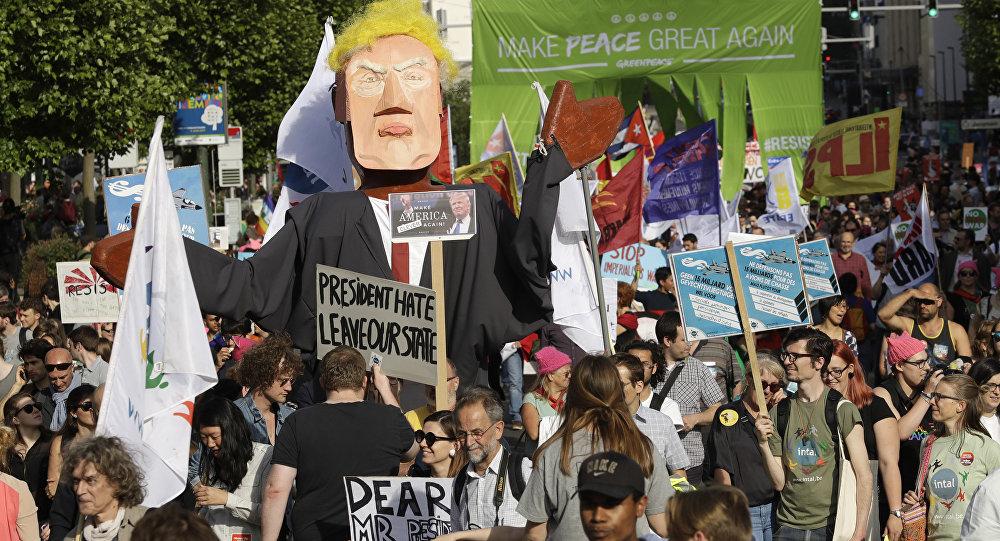 Protestas contra Donald Trump (archivo)