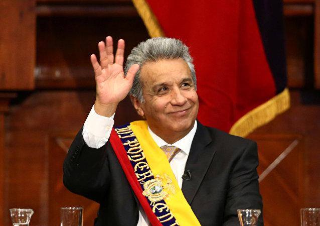 Lenín Moreno, presidente electo de Ecuador (archivo)