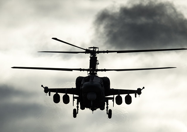 Un helicóptero ruso (archivo)