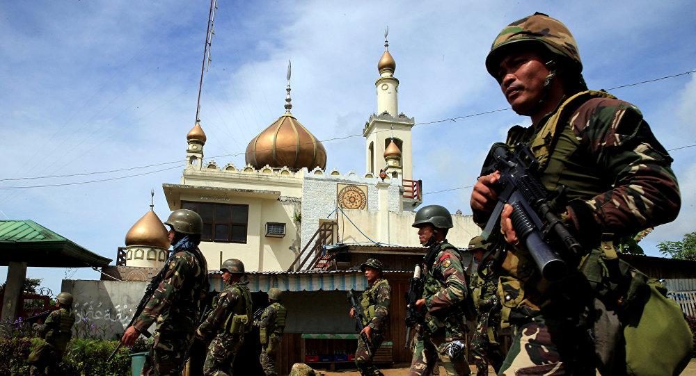 Soldados del Ejército de Filipinas