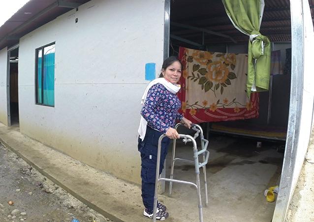 Anayive, guerrillera de las Fuerzas Armadas Revolucionarias de Colombia - Ejército del Pueblo