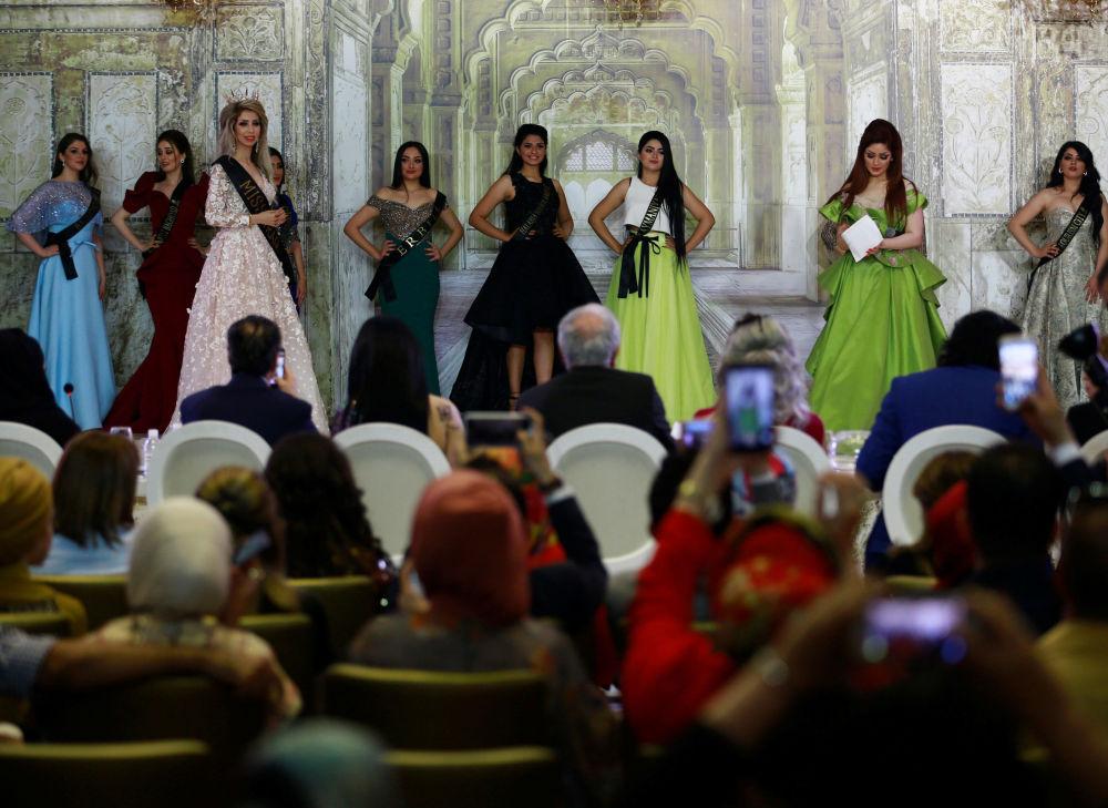 'Scherezades' iraquíes: la ganadora del concurso Miss Irak 2017 y sus rivales