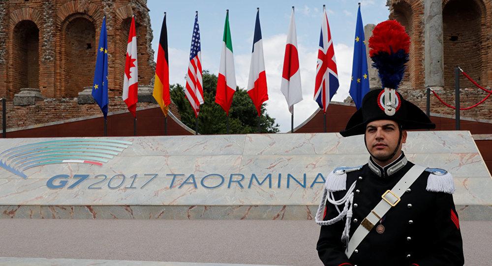 Cumbre del G7 en Taormina, Italia