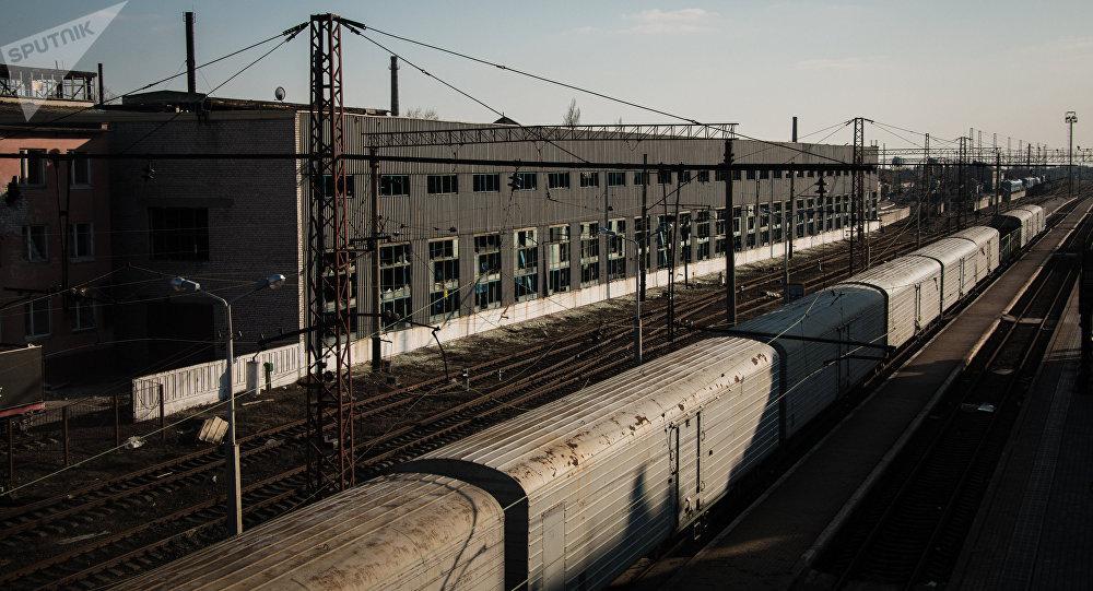Ferrocaril en Donbás