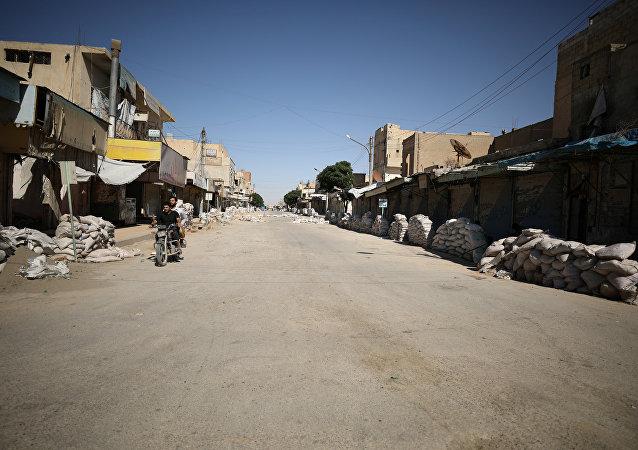 Situación en Al Raqa (archivo)