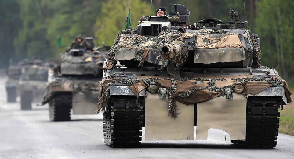 Tanques alemanes Leopard (archivo)