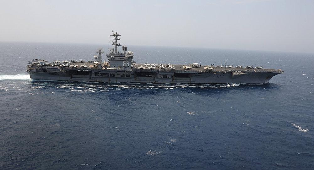 Portaviones estadounidense USS Nimitz
