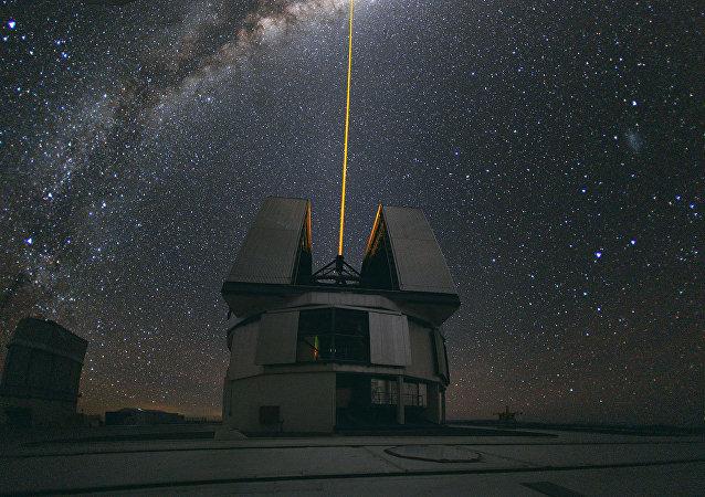 Uno de los telescopios del ESO