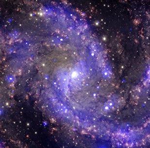 La galaxia espiral NGC 6946