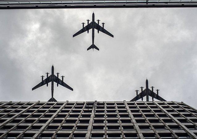 Bombarderos rusos Tu-95