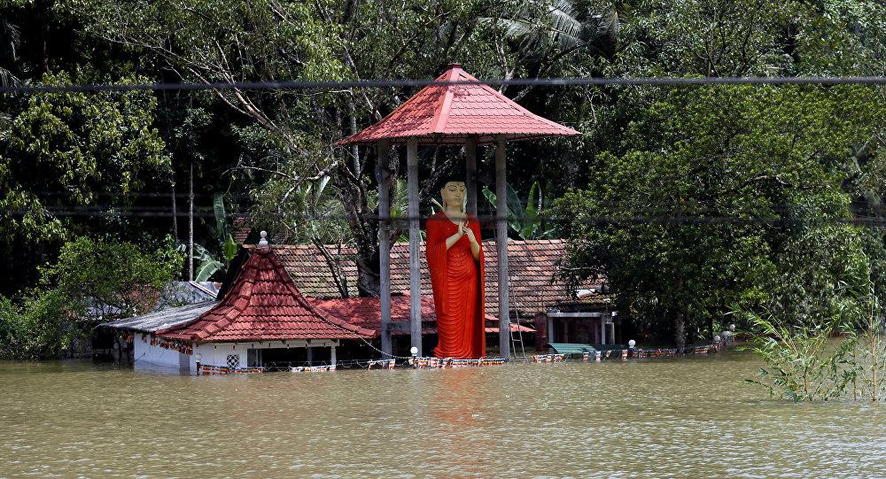 Inundaciones en Sri Lanka