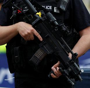 Un policía británico (archivo)