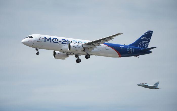 ¡Prepárense, Boeing y Airbus! El gigante ruso MS-21 realiza su primer vuelo