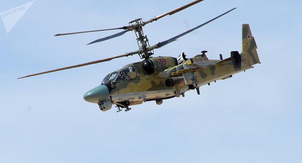 Ka-52 en Siria