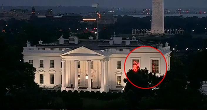 Luces rojas en la Casa Blanca