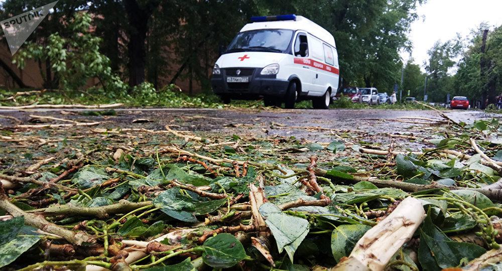 Huracán en Moscú