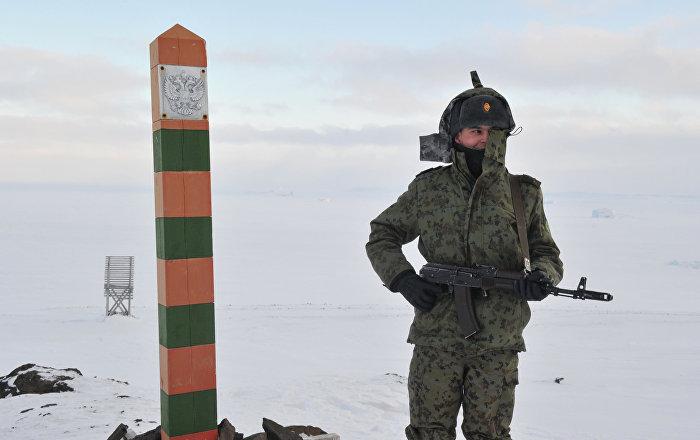 La vida de los encargados de guardar las fronteras de Rusia
