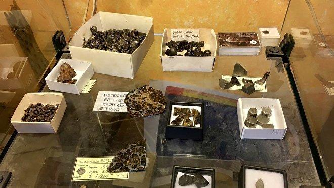 Meteoritos en la Ciudad de México