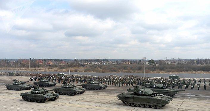 Carro de combate ruso T-14 Armata (archivo)