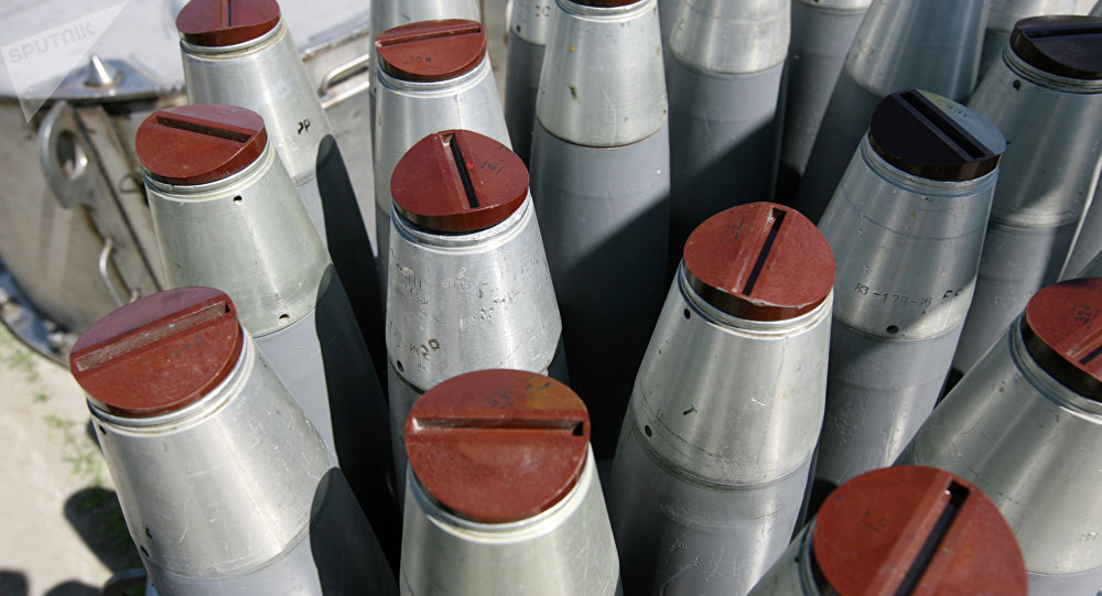 Armas químicas (Archivo)