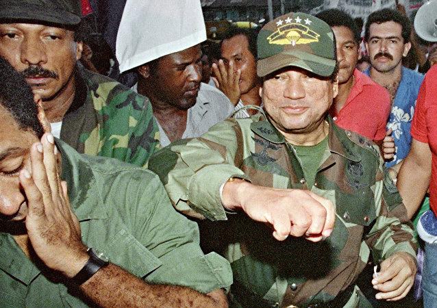Exdictador panameño, Manuel Noriega en 1989 (archivo)