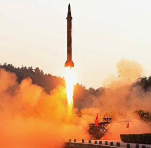 Lanzamiento de misil balístico por Corea del Norte