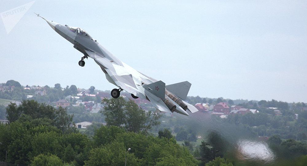El caza T-50, PAK FA (archivo)