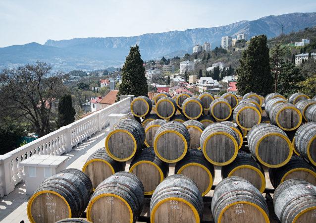 Planta de vino Massandra (archivo)