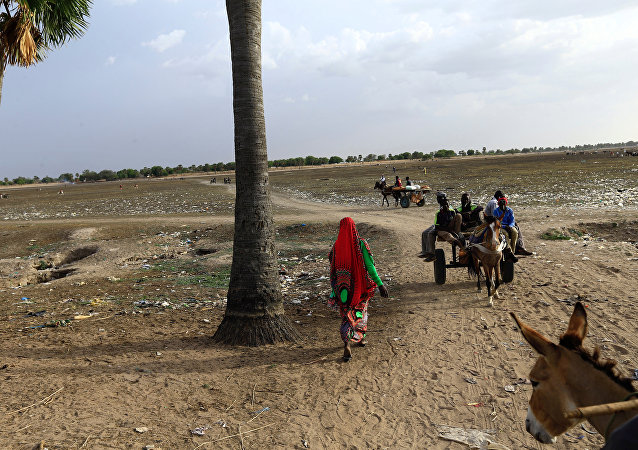Frontera entre Sudán y la República Centroafricana