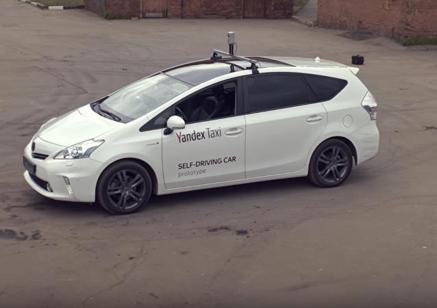 El primer taxi autónomo de Yandex