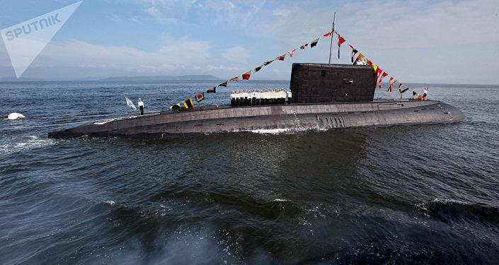 El submarino de la clase Varshavianka