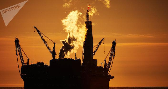Plataforma petrolífera (archivo)