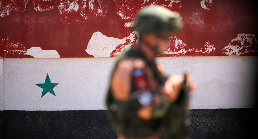 Un soldado ruso en Siria (archivo)