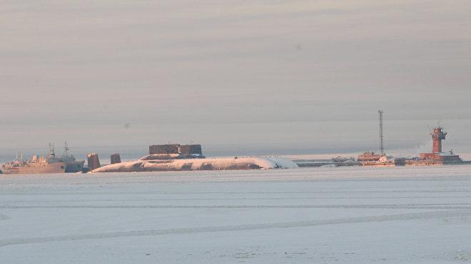 El submarino de la clase Akula