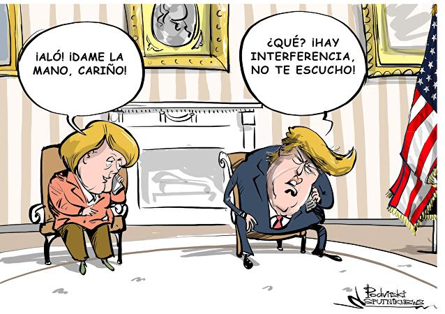 Trump pide llamerle por celular