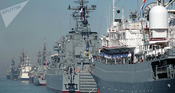Buques de la Flota del Mar Negro de Rusia (archivo)