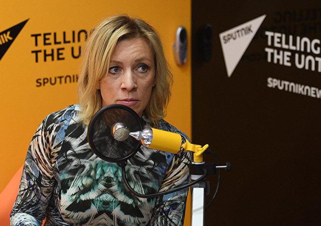 María Zajárova, portavoz de Exteriores ruso