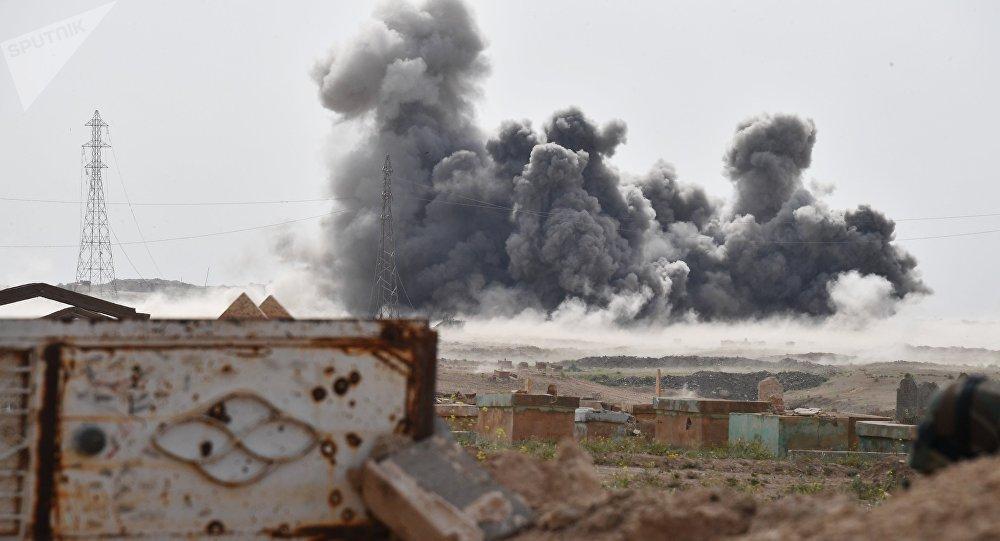 Lucha de Rusia contra los terroristas en Siria (archivo)