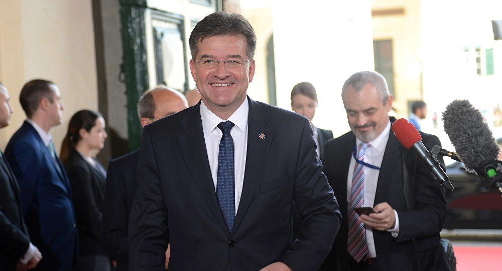 Miroslav Lajcak, el ministro de Asuntos Exteriores eslovaco