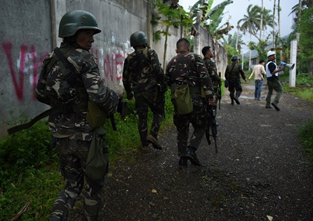 Los militares de Filipinas (imagen referencial)