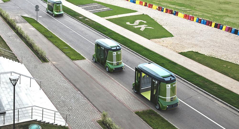 El autobús ruso completamente autónomo MatrËshka