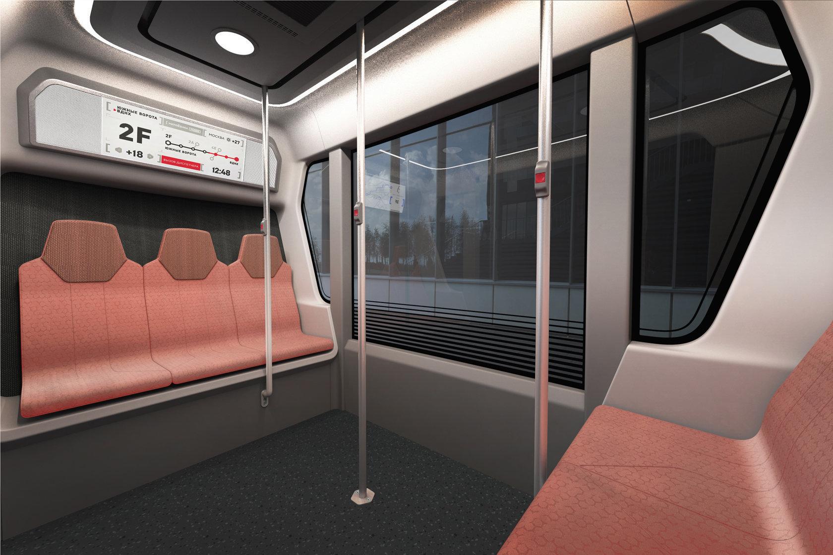 Los MatrËshka contarán con entre ocho y doce asientos para los pasajeros y su velocidad estará limitada a 30 kilómetros por hora