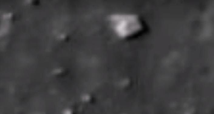 Un 'pentágono' en la Luna, ¿realidad o imaginación enfermiza?