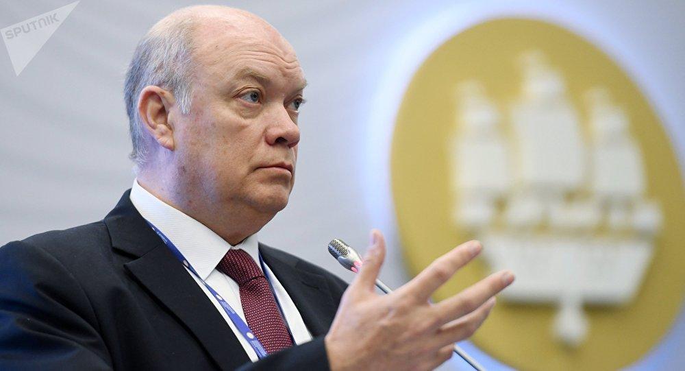 Rodrigo Malmierca Díaz, ministro de Comercio Exterior e Inversión Extranjera de Cuba