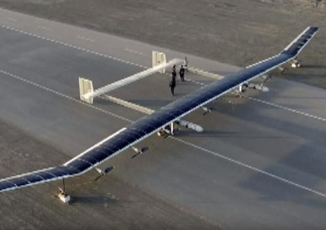 El 'titán' no tripulado chino emprende su primer vuelo
