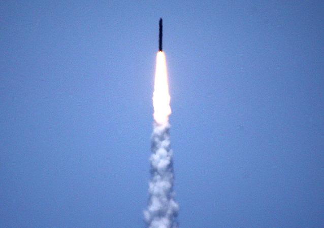 Ensayo de un misil estadounidense (imagen referencial)
